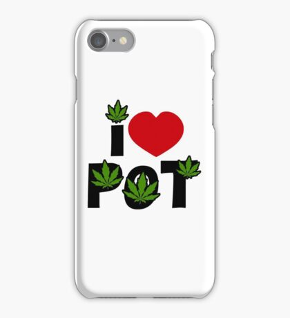 I Love Pot iPhone Case/Skin