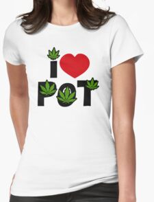 I Love Pot T-Shirt