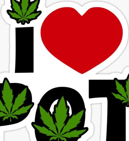 I Love Pot Sticker
