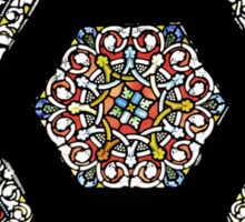 Stained Glass At The Poem Sticker