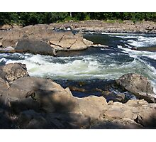raging rapids Photographic Print