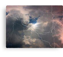 Thunder And Lightning Canvas Print