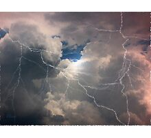 Thunder And Lightning Photographic Print