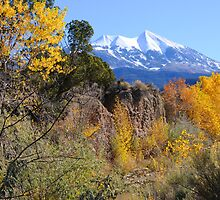 La Sal Mountains in the Fall, near Moab, Utah by ultimateplaces