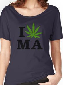 I Marijuana Massachusetts Women's Relaxed Fit T-Shirt