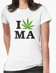 I Marijuana Massachusetts T-Shirt