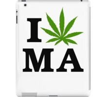 I Marijuana Massachusetts iPad Case/Skin