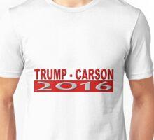 Trump Carson 2016 Unisex T-Shirt