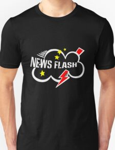 News flash black geek funny nerd T-Shirt