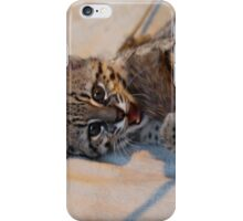 Young Geoffroys Cat iPhone Case/Skin