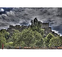 Castle behind the trees Photographic Print