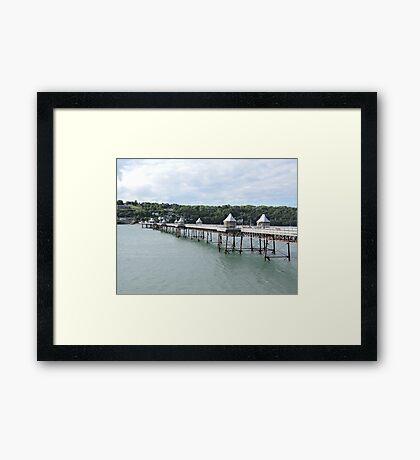 Bangor Pier Framed Print