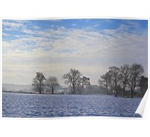 Winter at Barham Poster