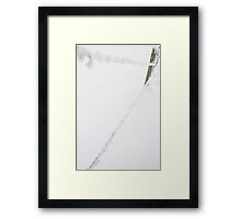 Frozen Wire Framed Print