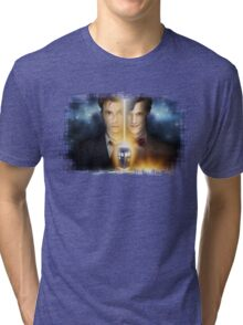 Doctor Who - Tennant & Smith  Tri-blend T-Shirt