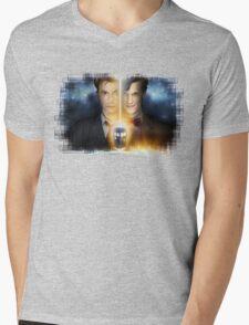 Doctor Who - Tennant & Smith  Mens V-Neck T-Shirt