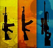 CS Weapons in Colors HQ by Dhaxina