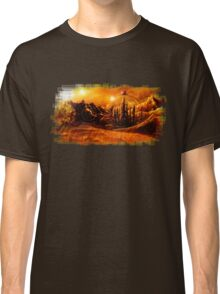 Doctor Who - Gallifrey & Doctor's Name Classic T-Shirt