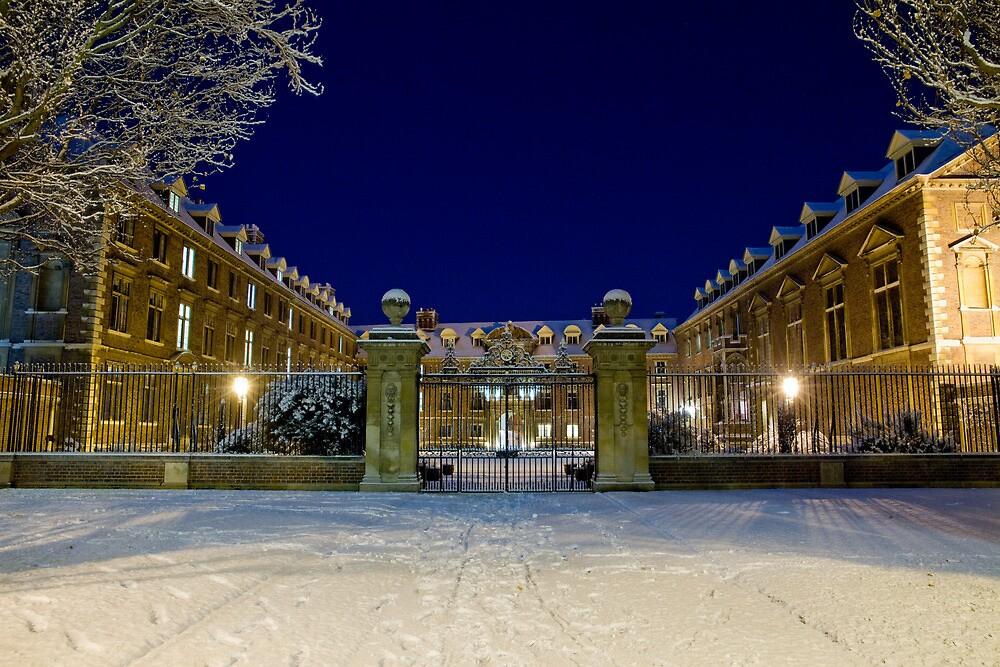 St Catharine's in the snow by BeardyGit