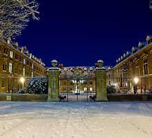 St Catharine's in the snow by BeardyGit