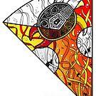 Rainbow Mandala Piece by eleveneleven