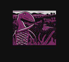 Dimorphodon and Scelidosaurus - Gray and Purple Unisex T-Shirt