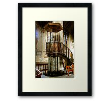 The Pulpit in Ripon Cathedral Framed Print