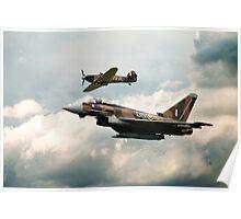 249 Squadron Legend Poster