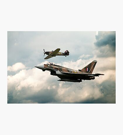 249 Squadron Legend Photographic Print