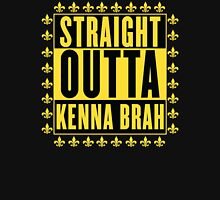 Straight Outta Kenna Brah Women's Fitted V-Neck T-Shirt