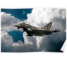 Camouflage Typhoon Poster