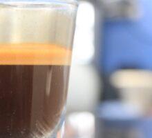 espresso shot Sticker