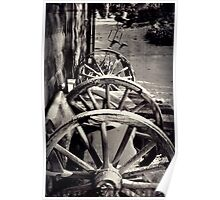 Cartwheel country house Poster