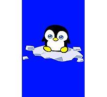Penguin geek funny nerd Photographic Print