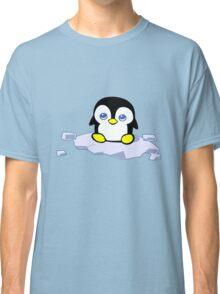 Penguin geek funny nerd Classic T-Shirt