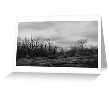 Desolate Mountain Greeting Card