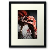 The Painful Regret Framed Print