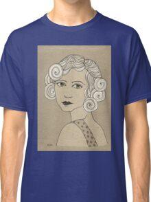 1920s Vintage Female Portrait 2 Classic T-Shirt