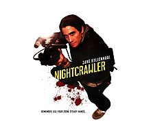 Nightcrawler - use zoom and steady hands Photographic Print