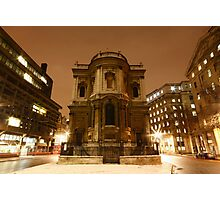 St Mary Le Strand Photographic Print