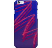 Red Scribble Design iPhone Case/Skin