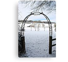 Gate to Narnia Canvas Print