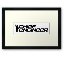 Chief Engineer Framed Print