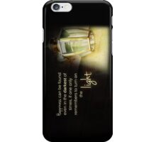 Dumbledore Harry Potter Happiness Quote iPhone Case/Skin