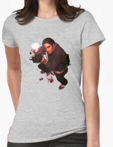 Lou Bloom - Nightcrawler Womens Fitted T-Shirt