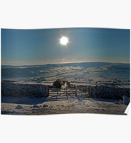 Snow Scene 4 Poster