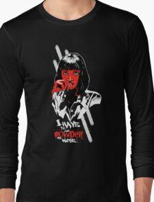 Pulp Fiction - Mia Wallace Long Sleeve T-Shirt