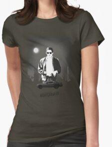 Nightcrawler poster Womens Fitted T-Shirt