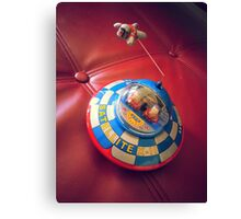 UFO Flying Saucer Toy Canvas Print