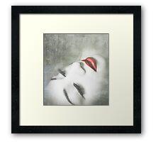 Winter's Kiss: Framed Print